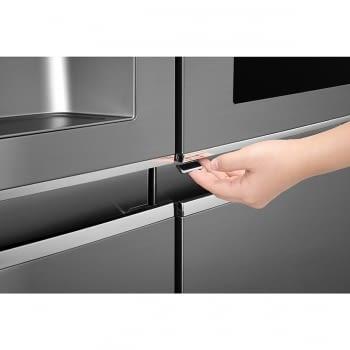 Frigorífico Americano LG GSI960PZAZ Inox Antihuellas Door in Door Dispensador agua y hielo Wifi | A++ - 2