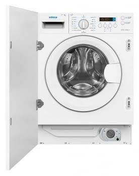 EDESA EWS-1480-I Lavasecadora Integrable 8Kg 1400rpm | Detección de Carga | Programa rápido 60 min | Clase A
