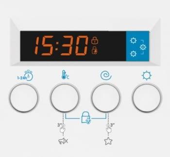 EDESA EWS-1480-I Lavasecadora Integrable 8Kg 1400rpm | Detección de Carga | Programa rápido 60 min | Clase A - 3