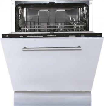 EDESA EDB-6021-I Lavavajillas Integrable 60cm | Función Media Carga | Programa rápido 30 min | 12 Servicios A+