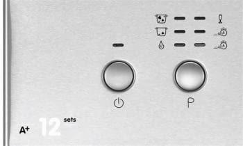 EDESA EDW-6121 X Lavavajillas Acero Inoxidable 60cm | Función Media Carga | Programa rápido 30 min. | 12 Servicios A++ - 3