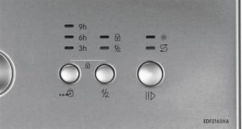 EDESA EDW-6121 X Lavavajillas Acero Inoxidable 60cm | Función Media Carga | Programa rápido 30 min. | 12 Servicios A++ - 4