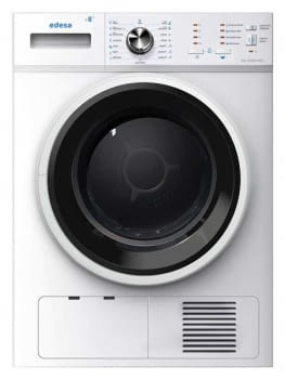 EDESA ESC-8000 WH Secadora Blanca 8kg | Condensación | Vapor | Detección Carga | Clase B