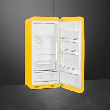 Smeg FAB28RYW3 Frigorífico-Congelador Amarillo 153x60x72,8cm | 1 Puerta | Apertura Derecha | A+++ | ¡Envío Gratis! - 3