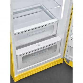 Smeg FAB28RYW3 Frigorífico-Congelador Amarillo 153x60x72,8cm | 1 Puerta | Apertura Derecha | A+++ | ¡Envío Gratis! - 7