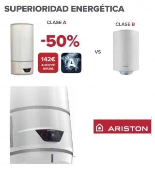 Termo Ariston Lydos 80L Híbrido Bomba Calor ACS | Stock | Envío Gratis!