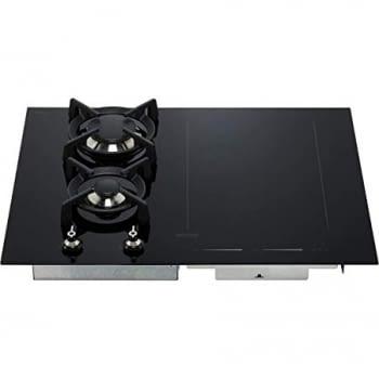 Placa Mixta Smeg PM3621WLD Gas e Inducción 65cm Cristal Negro | Envío Gratis