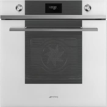 SMEG SF6101TVB1 Horno Termoventilado 60cm   Cristal Blanco   A+   Envío Gratis