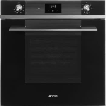 SMEG SF6100VN1 Horno Ventilado 60cm Vapor Clean Cristal Negro | Envío Gratis