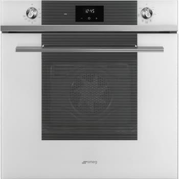 Horno Ventilado SMEG SF6100VB1 | 60cm | Vapor Clean | Cristal Blanco