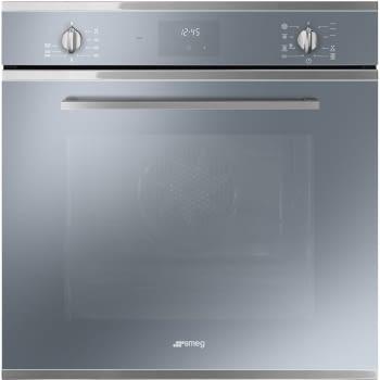 SMEG SF6400TVS Horno Multifunción | Vapor Clean| 60cm Cristal Plateado | Envío Gratis