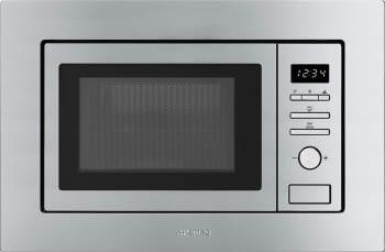 SMEG FMI020X Microondas con Grill | Acero Inoxidable Antihuellas | Envío Gratis