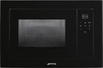 SMEG FMI120N2 Microondas con Grill Integrable | Cristal Negro | Envío Gratis STOCK