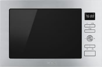 SMEG FMI425X Microondas Integrable con Grill | Acero Inox | Envío Gratis