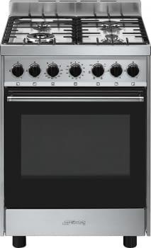 SMEG B601GMXI9 Cocina a Gas 60cm x 60cm | 1 Horno Eléctrico | Acero Inoxidable | Envío Gratis