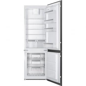 SMEG C7280NEP1 Frigorífico Combi Integrable | Congelador NoFrost | 178cm A+ | Envío Gratis