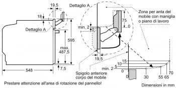 BOSCH HRG6769S6 Horno Multifunción 60cm| Pirolítico con Vapor | Wifi Home Connect | Acero Inoxidable Antihuellas | Clase A - 6