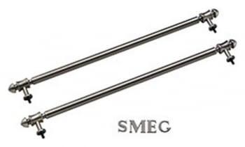 SMEG KITKCS-2 Kit de Rieles de techo extractor de la campana | color Silver