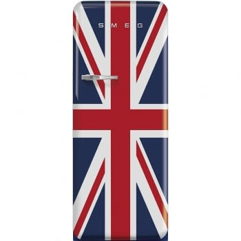 Smeg FAB28RDUJ5 Frigorífico-Congelador Bandera UK 153x60x72,8cm | 1 Puerta | Apertura Derecha | A+++ | ¡Envío Gratis!
