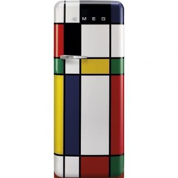 Smeg FAB28RDMC5 Frigorífico-Congelador Mondrian 153x60x72,8cm | 1 Puerta | Apertura Derecha | A+++ | ¡Envío Gratis!