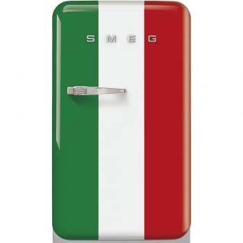 Frigorífico Mini Retro Color Bandera Italiana Smeg FAB10HRDIT5 | Homebar | 55 cm | Apertura a la derecha | Envío + Instalación + Retirada Gratis