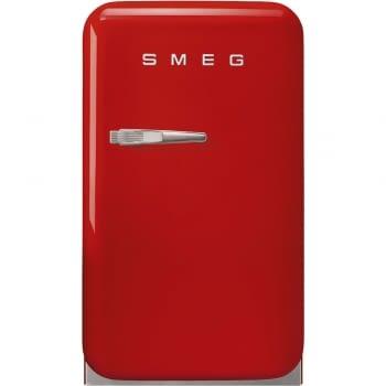 Frigorífico Minibar Retro Rojo Smeg FAB5RRD5 | 40 cm | Apertura Derecha | Envío + Instalación + Retirada Gratis