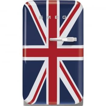 Frigorífico Minibar Retro Bandera Reino Unido Smeg FAB5LDUJ5 | 40 cm | Apertura Izquierda | Envío + Instalación + Retirada Gratis