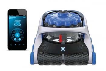 Robot Limpiafondos Hayward Aquavac 650 Electrónico Muy Baja Tensión WIFI