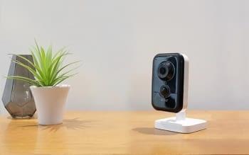 Delta Dore Tycam 1100 Indoor Cámara Seguridad Interior Wifi Live Straming
