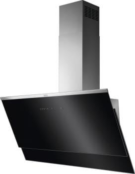 Campana de pared AEG DVE5971HG Negra de 90 cm 700 m³/h de potencia eficiencia clase A y conexion Hob2Hood - 1