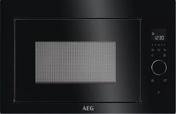 Microondas AEG MBE2657SEB Negro de 900 W con capacidad de 26 litros y apertura electrónica