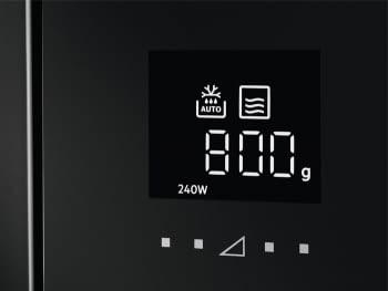 Microondas AEG MBE2657SEB Columna 60cm   900 W   26 litros   Apertura electrónica   Negro - 3