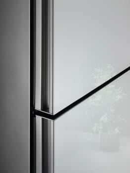 Frigorífico Combi AEG RCB736E4ML Cristal Blanco   201x59,5 cm   No Frost   Cooling 360   DesignLine   Clase E - 2