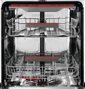 Lavavajillas AEG FFB53910ZW Blanco XL Inverter MaxiFlex AirDry 14 Cubiertos Tercera Bandeja 46dB A+++ - 6