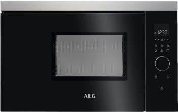 Microondas AEG MBB1756DEM Negro + Inox Integrable de 800 W 17 litros