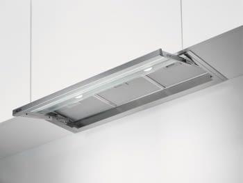 Campana Extraíble AEG DPE4941M Inoxidable de 60 cm a 600 m³/h, | Iluminación LED | Clase C