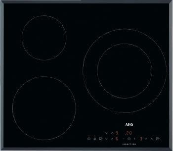 Placa de Inducción AEG IKB6330SFB de 60 cm con 3 zonas (1 doble) de cocción - 2