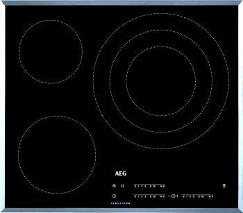 Placa de Inducción AEG IKB63405FB de 60 cm 3 Zonas Max 32 cm Hob2Hood - 1