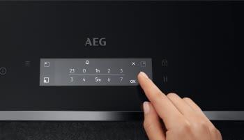 Placa de Inducción AEG IAE84881FB | 80 cm| 4 Zonas de cocción con PowerBoost | Conexión Placa-Campana Hob2Hood | Sonda térmica SensePro® - 5