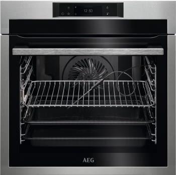 Horno AEG BPE748380M Pirolítico de Acero Inoxidable | 16 Funciones | Sonda Térmica | Control Full Digital 160 Programas | Clase A++