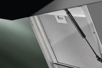 Campana Decorativa Inclinada 90cm Electrolux LFV619K  Negro   Jolly   Encendido Automático Placa-Campana   700m3   Clase A - 7