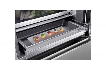 Frigorífico Combi LG LSR200B Inox de 179 cm con 387 L Puerta Instaview con apertura automática No-Frost WiFi Clase E - 5