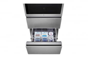 Frigorífico Combi LG LSR200B Inox de 179 cm con 387 L Puerta Instaview con apertura automática No-Frost WiFi Clase E - 14
