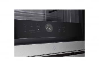 Frigorífico Combi LG LSR200B Inox de 179 cm con 387 L Puerta Instaview con apertura automática No-Frost WiFi Clase E - 16