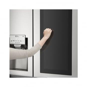 Frigorífico Americano Combi LG GSX961NSVZ Acero Antihuellas de 179 cm No Frost Door-in-Door Instaview con 601 L Dispensador agua y hielo WiFi Clase E - 4