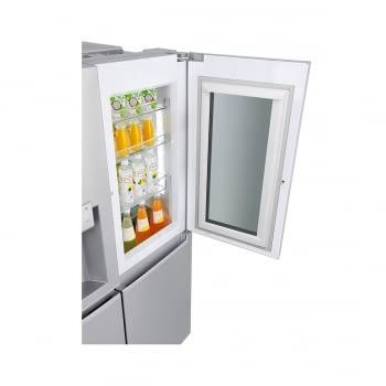 Frigorífico Americano Combi LG GSX961NSVZ Acero Antihuellas de 179 cm No Frost Door-in-Door Instaview con 601 L Dispensador agua y hielo WiFi Clase E - 7
