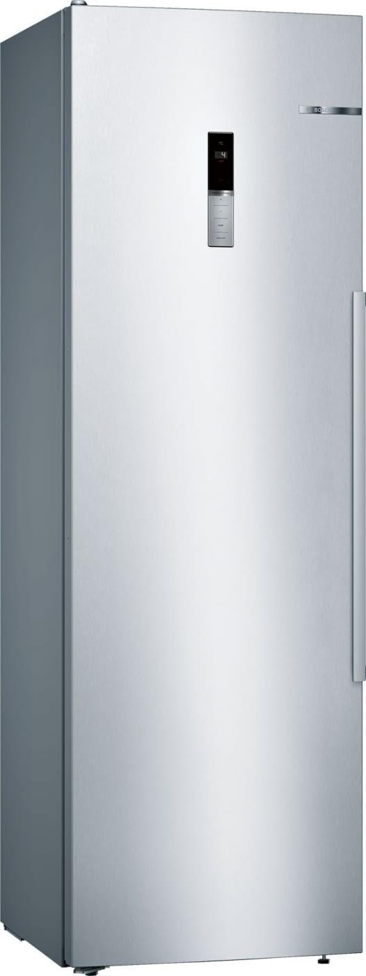 Frigorífico 1P Bosch KSV36BIEP Cíclico Libre Inox antihuellas de 186 x 60 cm 346 L Display en puerta VitaFresh Plus Clase A++ -