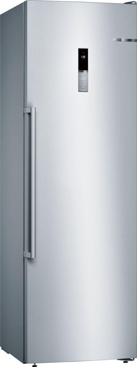 Congelador Vertical Bosch GSN36BIFP 1P Libre Inox antihuellas de 186 x 60 cm 242 L | Display en puerta | No Frost | Clase F -