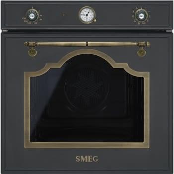Horno Multifunción Rustico SMEG SF750AO con tecnología Vapor Clean | Clase A
