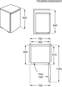 Congelador Vertical Zanussi ZYAN8EW0 Blanco de 84.5 cm   Clase E - 3